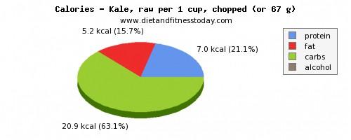 Dh Kale Calories